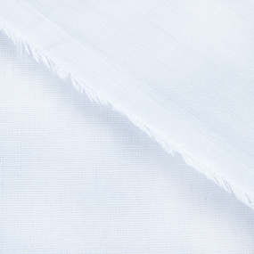 Бязь отбеленная 137 гр/м² 150 см мохнатая кромка фото