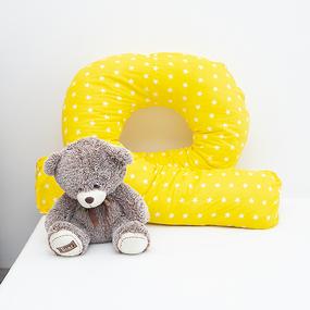 Подушка для беременных U-образная 1700/8 цвет желтый фото