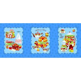 Набор вафельных полотенец 3 шт 45/60 см 383/2 фото