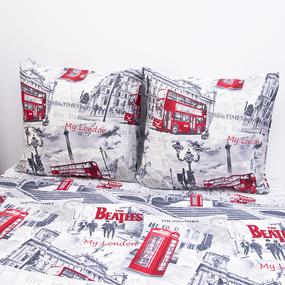 Постельное белье из бязи Лондон 2-х сп фото