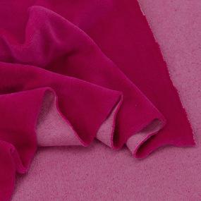 Ткань на отрез велюр цвет фуксия фото