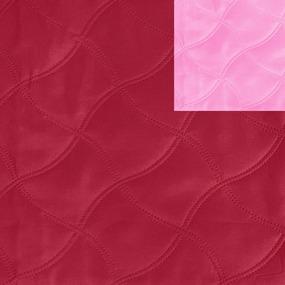 Ультрастеп 220 +/- 10 см цвет бордовый-розовый фото