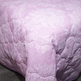 Покрывало стеганое Агат (розовый) 10333/3 пудра 240/210 Евро фото
