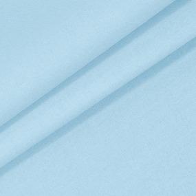 Бязь гладкокрашеная 120гр/м2 220 см на отрез цвет цвет небесно-голубой фото