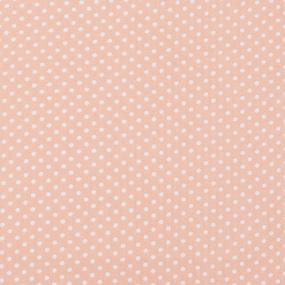 Ткань на отрез бязь плательная 150 см 1590/4 цвет персик фото