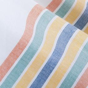 Полотенце полулен 50/70 Полоска расцветки в ассортименте фото