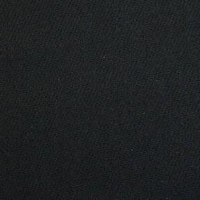Ткань на отрез диагональ 85 см цвет черный фото