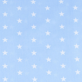 Мерный лоскут бязь плательная 150 см 1700/3 цвет голубой 15,8 м фото