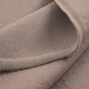 Маломеры футер 3-х нитка компакт пенье начес цвет светло-коричневый 0.8 м фото