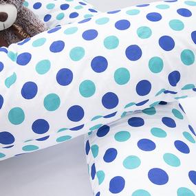 Подушка для беременных U-образная 1718/1 цвет мята-василек фото