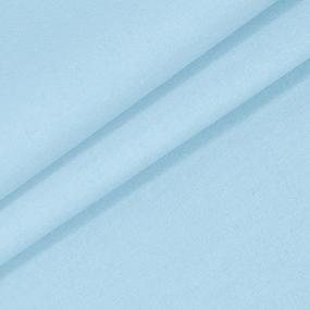Мерный лоскут на отрез поплин гладкокрашеный 115 гр/м2 220 см цвет голубой фото