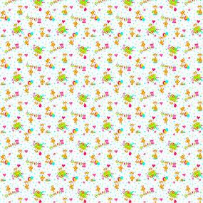 Фланель 90 см детская б/з арт С514 Тейково рис 21030 вид 1 фото