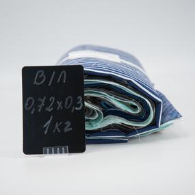 Весовой лоскут Бязь/Поплин о/м 0,72 / 0,30 (+/-5) м в ассортименте по 1 кг фото