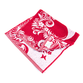 Полотенце махровое 4125 8 Марта 30/60 см цвет красный фото