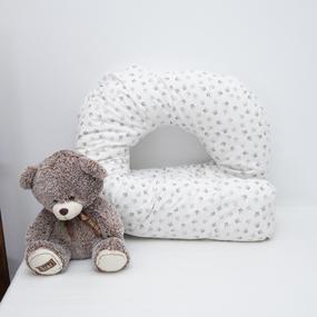 Наволочка поплин на подушку для беременных U-образная 2027 фото