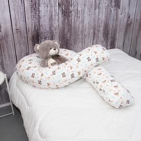 Наволочка поплин на подушку для беременных U-образная 1976/1 Индейцы фото