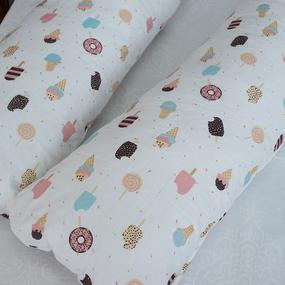 Наволочка бязь на подушку для беременных U-образная 448 Эскимо фото