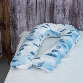 Наволочка бязь на подушку для беременных U-образная 13131/1 Ловцы снов фото
