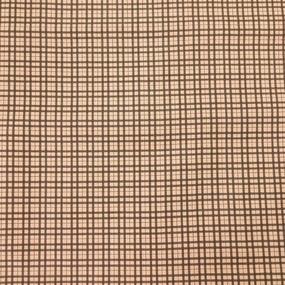 Ткань на отрез сатин набивной 80 см 5621/2 Марсель цвет коричневый фото
