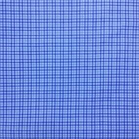Ткань на отрез сатин набивной 80 см 5621/4 Марсель цвет синий фото