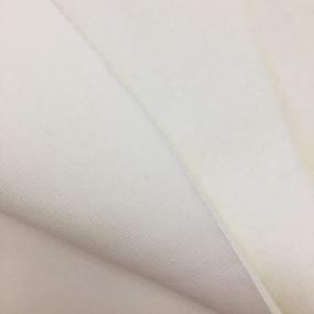 Мерный лоскут футер 3-х нитка компакт пенье начес цвет экрю 4,2 м фото