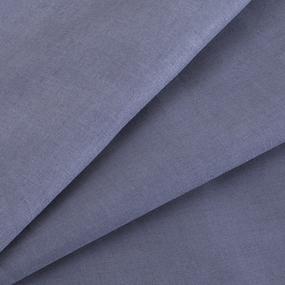 Сатин гладкокрашеный 250 см 17-1502 цвет т-серый фото