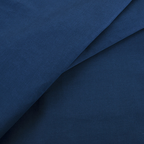 Сатин гладкокрашеный 250 см 19-4026 цвет синий океан фото