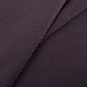 Ткань на отрез сатин гладкокрашеный 250 см 18-1312 цвет шоколад фото