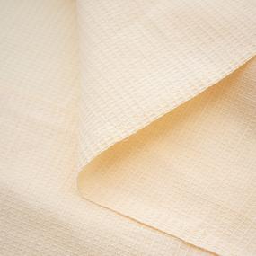 Вафельная накидка на резинке для бани и сауны женская цвет персиковый фото