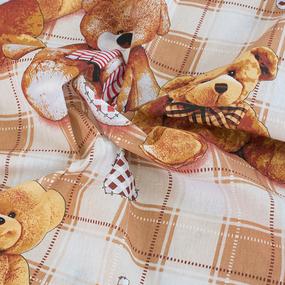 Детское постельное белье из бязи 1.5 сп 4773/1 Мишутки фото
