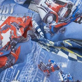 Детское постельное белье из бязи 1.5 сп 11432/1 Роботы фото