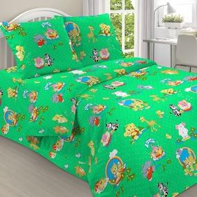 Бязь о/м 120 гр/м2 детская 150 см 1517/1 цвет зеленый фото