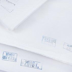 Пеленка подкладная бязь отбеленная ГОСТ с маркировкой 75/75 в упаковке 10 шт фото