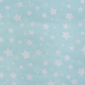 Ткань на отрез перкаль 150 см 13165/2 Звезда цвет мята фото