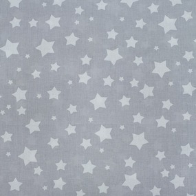 Ткань на отрез перкаль 150 см 13165/4 Звезда цвет серый фото