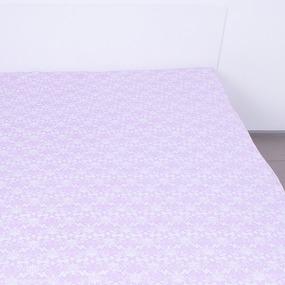 Простынь на резинке поплин 4698 компаньон 140/200/20 см фото