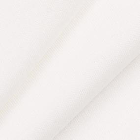 Ткань на отрез интерлок компакт пенье цвет экрю фото