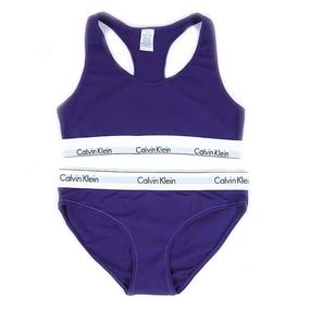 Комплект нижнего женского белья Топ+трусы фиолетовый XL (46-48) фото