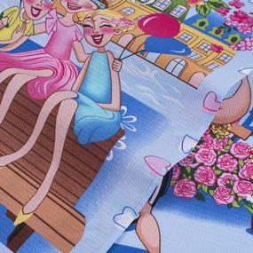 Набор вафельных полотенец 3 шт 45/60 см 35003 вид 1 Восьмое марта фото