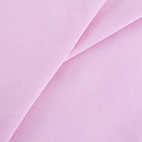 Бязь гладкокрашеная 120гр/м2 150 см цвет розовый фото