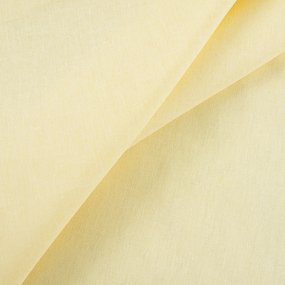 Бязь гладкокрашеная 120гр/м2 150 см цвет желтый фото