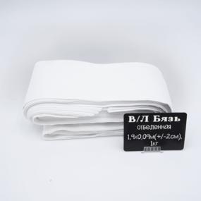 Весовой лоскут Бязь отбеленная 1,90 / 0,09 (+/- 2) по 1 кг фото