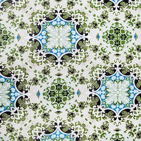 Ткань на отрез Тик 80 см цвет цветочек фото
