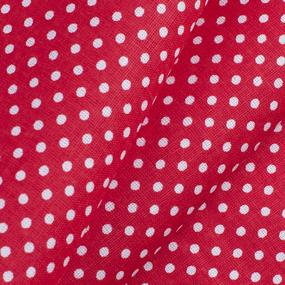 Ткань на отрез бязь плательная 150 см 1590/20 цвет красный фото