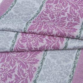 Ткань на отрез полулен полотенечный 50 см Жаккард 1/306/24 фото