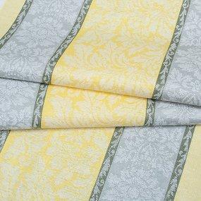 Ткань на отрез полулен полотенечный 50 см Жаккард 1/306/23 фото