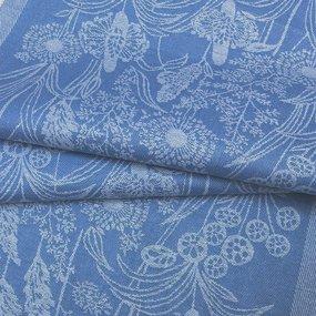 Ткань на отрез полулен полотенечный 50 см Жаккард 1/585/13 фото