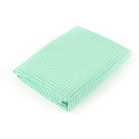 Полотенце вафельное банное Премиум 150/75 см цвет 304 мята фото
