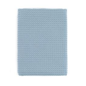 Полотенце вафельное банное Премиум 150/75 см цвет 952 серый фото