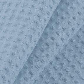 Вафельная накидка на резинке для бани и сауны Премиум мужская цвет 952 серый фото